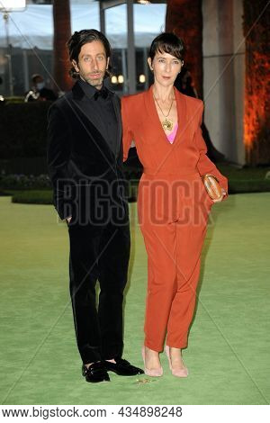 Simon Helberg and Jocelyn Towne at the Academy Museum of Motion Pictures Opening Gala held in Los Angeles, USA on September 25, 2021.