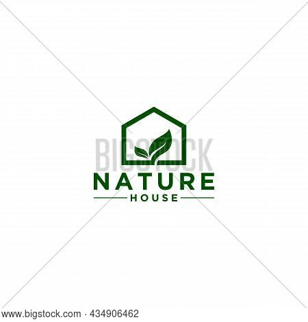 Nature Log Template, Vector, Icon Nature In White Background