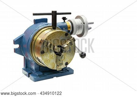 Horizontal Vertical Rotary Table For Milling Or Cnc Machining Center Machine With 3 Jaw Chuck For Ma