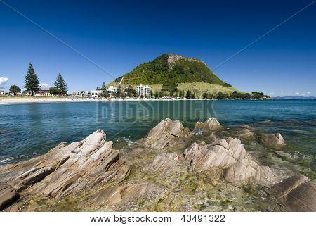 Mount Maunganui Beach, New Zealand