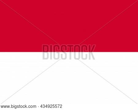 The National Flag Of Indonesia A Country In Southeast Asia And Oceania