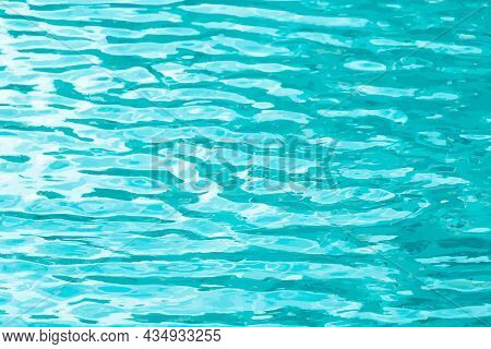 Light Blue Color With Ripple Texture Background