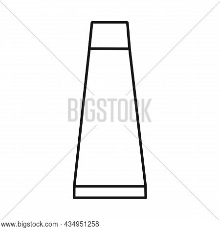 Vector Design Of Tube And Cream Sign. Web Element Of Tube And Container Stock Vector Illustration.