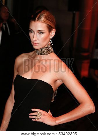 NEW YORK-SEP 17: Model Lauren Remington Platt attends the 14th annual New Yorkers For Children Fall Gala at Cipriani 42nd Street on September 17, 2013 in New York City