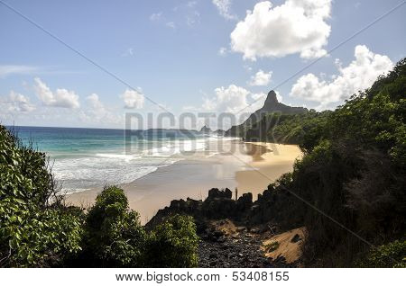 Beach Of  Bode, Fernando De Noronha (brazil)