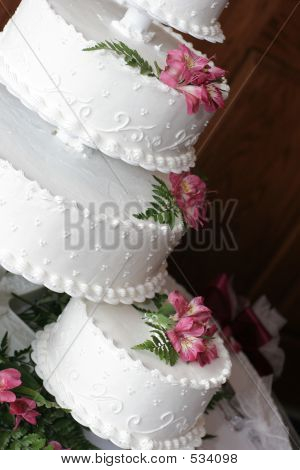 Three-tiered Wedding Cake #2
