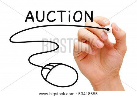 Online Auction Concept