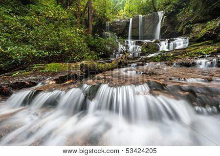 South Carolina Jocassee Gorges Waterfall