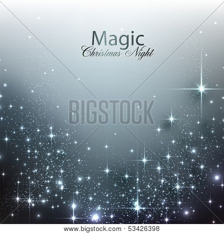 Elegant Christmas background with place for text. Vector Illustration