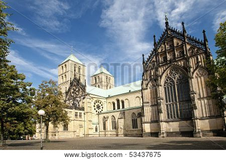 Cathedral St. Paulus In Muenster, Germany