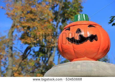 Big scary Jack-O-Lantern