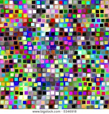 Retro Block Pattern