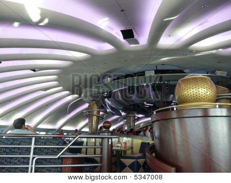 Interior Of The Dome Nightclub On Cruise Ship