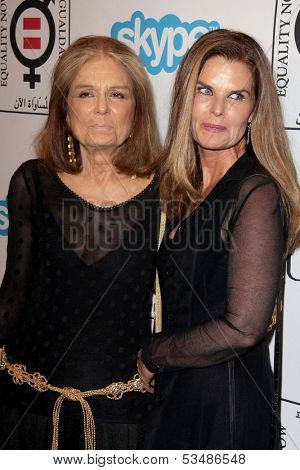 LOS ANGELES - NOV 4:  Gloria Steinem, Maria Shriver at the Equality Now Presents Make Equality Reality at Montage Hotel on November 4, 2013 in Beverly Hills, CA