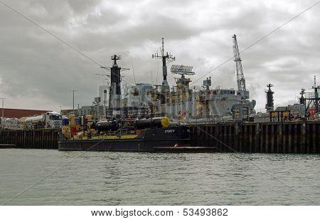 Warship Decommissioning, Portsmouth