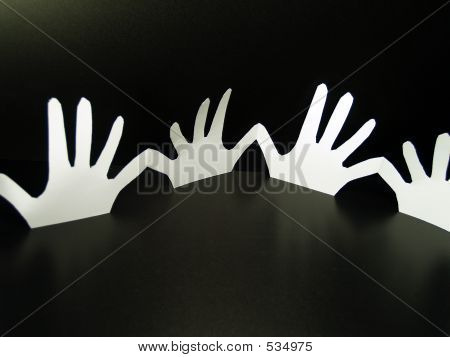 Paper Doll Hands