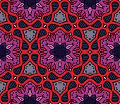 colorful moroccan ornament, vector seamless pattern. This is file of EPS8 format. poster