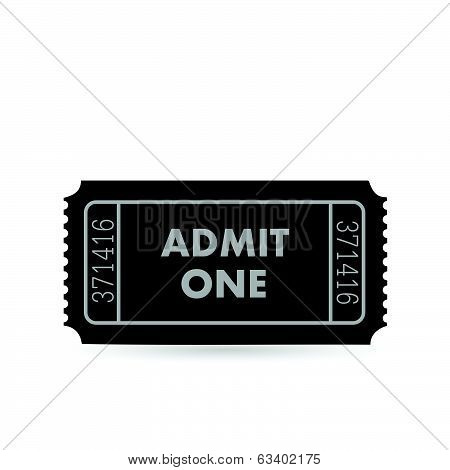 Admit One Ticket