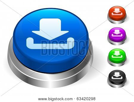 Download Icons on Round Button Collection