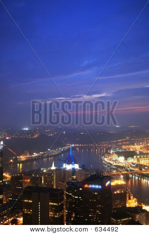 Pittsburgh From U. S. Steel Tower