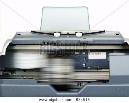 Printing In Progress