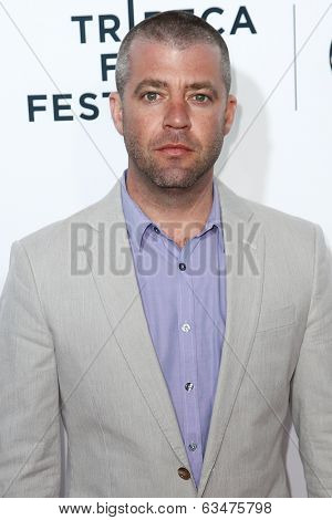 NEW YORK-APR 16: Composer Brian Satz attends the world premiere of