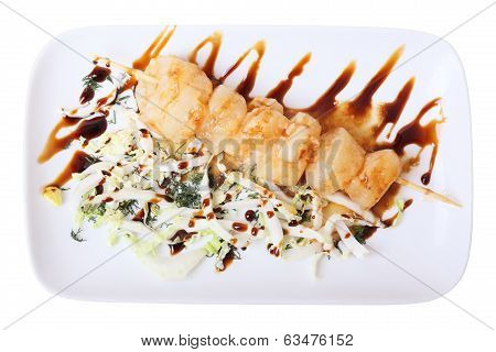 Skewer Of Scallop