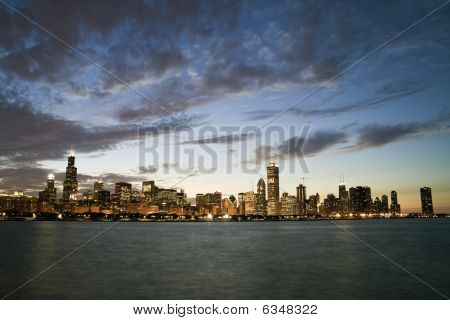 Famous Skyline Of Chicago