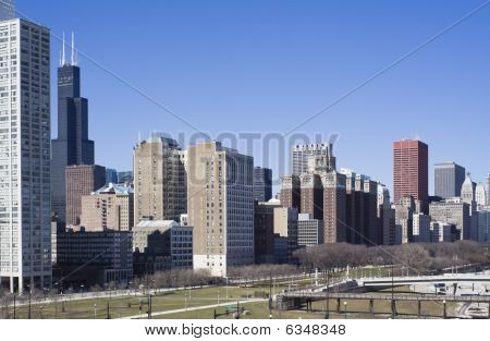 South Loop Of Chicago