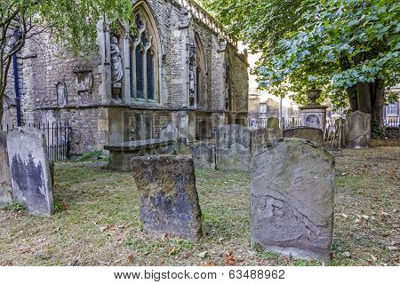 Graveyard At St Mary Magdelene Church, Oxford
