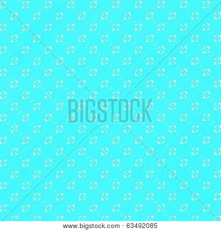 Turquoise With White Marks