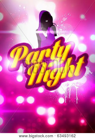 Party Night Background