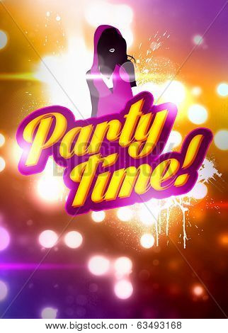 Party Time Background