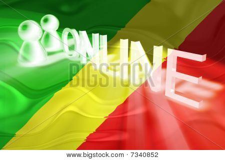 Flag Of Congo Wavy Online