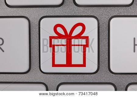 Gift Symbols on Keyboard