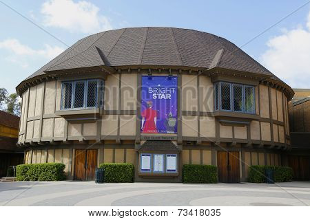 Old Globe Theatre at Balboa Park in San Diego
