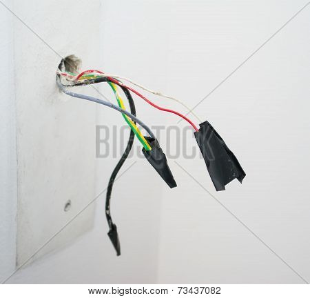 Wires With Tape