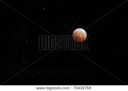 Lunar Eclipse On October 8, 2014