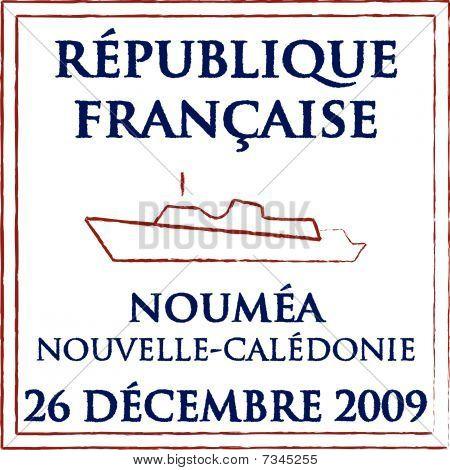 Noumea Passport Stamp