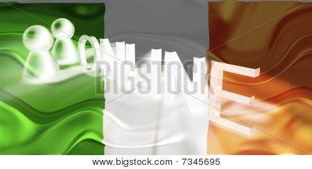 Flag Of Ireland Wavy Online