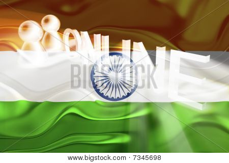 Flag Of India Wavy Online
