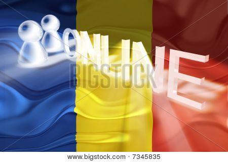 Flag Of Romania Wavy Online