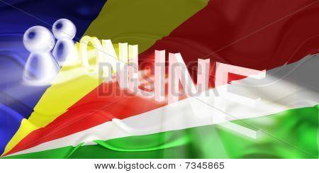 Flag Of Seychelles Wavy Online