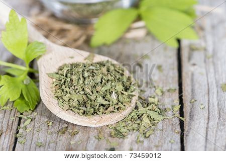 Portion Of Dried Lovage