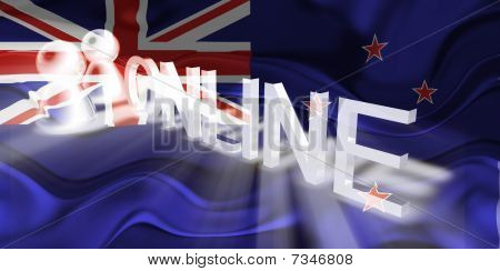 Flag Of Tokelau Wavy Online