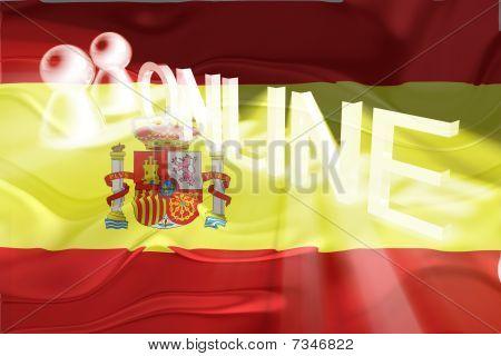 Flag Of Spain Wavy Online