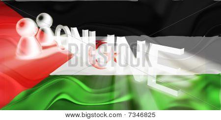 Flag Of Western Sahara Wavy Online