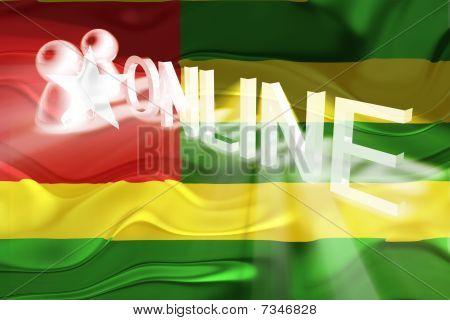 Flag Of Togo Wavy Online