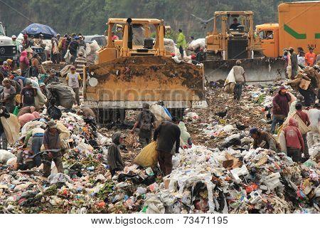 Landfill at Guatemala City