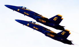 US Naval Aviation Blue Angels Air Show
